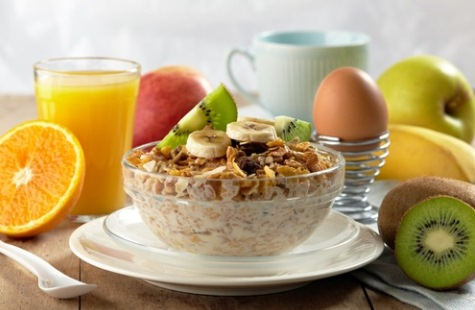 Правильный завтрак - залог успеха в борьбе с лишними килограммами